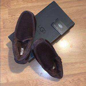 NIB Ugg Men's Ascot Wool Loafers, Size 8